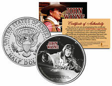JOHN WAYNE - MOVIE * Jet Pilot * JFK Kennedy Half Dollar US Coin * LICENSED *