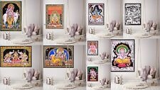 Indian God's Poster Bohemian Cotton Wall Hanging Dorm Decor Tapestry Throw Boho