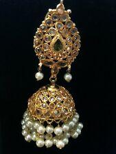 High end Polki style jhumkay ( chandhalier) earrings