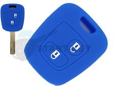 Peugeot Citroen Schlüssel Silikon Hülle Cover 206 307 C1 C2 C3 107 Aygo Blau
