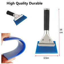 Blue Window Film Squeegee Tool With Handle For Home Car Auto Window Glass Tint