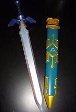 Legend of Zelda Link's Master Sword & Sheath Cosplay Costume Prop Disguise NWT