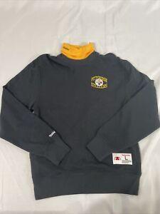 NFL Mitchell & Ness Longsleeve Turtle Neck Retro Sweatshirt Black/Gold