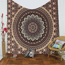 Indian Ombre Mandala Hippie Wall Hanging Tapestry Decor Bedspread Beach Towel