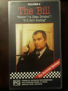 The Bill Volume 2  VHS Video Cassette RARE