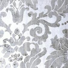 FD24447 - Insignia Grey Concrete Damask Fine Decor Wallpaper
