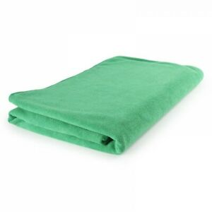 Microfibre Bathsheet Towel - absorbent, compact, quick-dry - Green 2 sizes