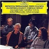 Beethoven: Triple Concerto, Anne-Sophie Mutter, Audio CD, New, FREE & FAST Deliv
