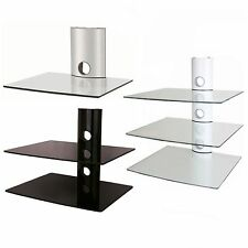 Moderne TV - & HiFi-Tische aus Glas zum Zusammenbauen