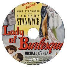 Lady of Burlesque - Barbara Stanwyck, Michael O'Shea - Murder Mystery - 1943