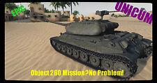 World of Tanks WOT Object 260 15 HT Heavy Tank  Mission EU / NA No Bonus Code XP