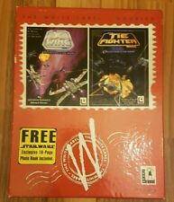Star Wars X-WING And Tie Fighter Collector's Big Box PC CD ROM Game, White Label