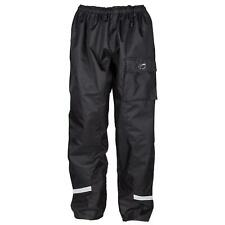 Spada Aqua Waterproof Motorcycle Over Trousers Motorbike Quilt Lined Black New