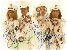 REPRINT RP 8x10 Signed Photo: --Cheap Trick  With Rick Nielson