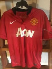 Manchester United Wayne Rooney 10 Jersey Nike Sz M Red Epl