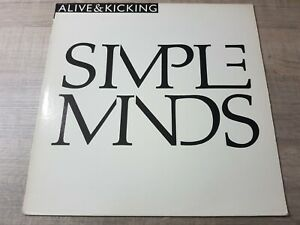 Simple Minds – Alive & Kicking from 1985 VIRGIN 80207 French Edition