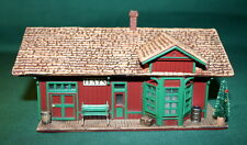 HALLMARK ORNAMENTS 1994 SARAH, PLAIN AND TALL-THE HAY'S TRAIN STATION