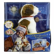 Elf Pets A St. Bernard Tradition Plush & Storybook New/ With Damaged Box