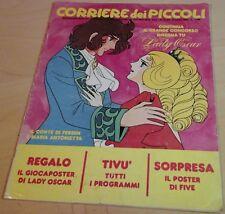Corriere dei Piccoli n.16 / 1982 LADY OSCAR GATCHAMAN PUPAZZO FIVE STEFI PIMPA