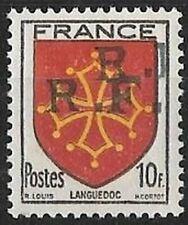 LIBÉRATION..RRR..ROCHECORBON...10f**Languedoc. Dle Sge...Signé.P..MAYER
