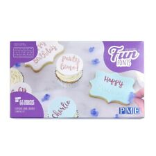 PME Fun Fonts - COOKIE & CUPCAKE EDITION - Upper & Lowercase Set
