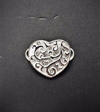 LeStage Convertible Bracelet Clasp - Valentine w/ Swarovski Crystals (SB5835)