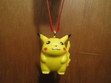 NINTENDO POKEMON CUSTOM PIKACHU #4 PVC CHRISTMAS ORNAMENT