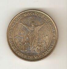Medaille LA GRANDE MOSAIQUE DU COEUR SACRE-COEUR DE MONMARTRE ( Paris )