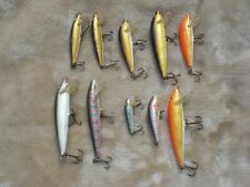 10 RAPALA FISHING LURES