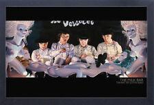 The Milk Bar Art Of Justin Reed 13x19 Framed Gelcoat Poster Clockwork Orange!