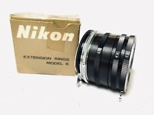 Nikon Model K  F Camera Mount Macro Lens Extension Tube Full Set K1  K2 K3 K4 K5