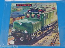 Marklin Catalogue 1964/65  F  Bfrs