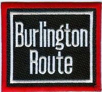 """RAILROAD PATCH - Burlington Route 4 """""""