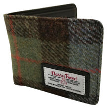Nueva Billetera Tarjetas Dinero Harris Tweed Tartán Plegable RRP £ 24.99