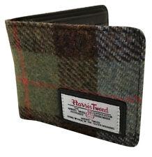 NEW HARRIS TWEED WALLET CARDS MONEY TARTAN BIFOLD