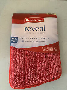 New Rubbermaid Reveal Red Microfiber Cleaning Pad