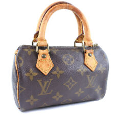 LOUIS VUITTON M41534 Mini speedy Handbag Brown Monogram canvas Women