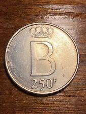 Belgique 250 francs Fl , 1976 , argent , sup