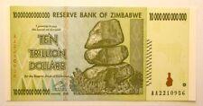 ZIMBABWE 10 TRILLION DOLLARS 2008 UNC 10.000.000.000.000 P88