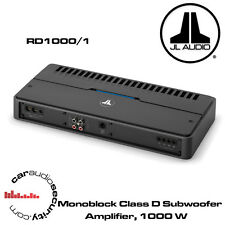 JL Audio RD1000/1 - Class D Mono Amplifier 1000W RMS Bass Amplifier RD Amp New