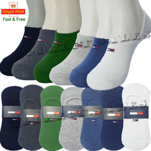 Tommy Hilfiger Mens Womens Ankle Liner Invisible Socks No Show Sports Cotton lot