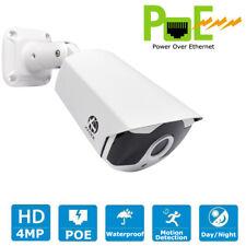 JOOAN 4MP PoE Camera Video Surveillance Outdoor IP Security Motion Detection IR