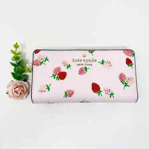 New Kate Spade Strawberry Bifold wallet