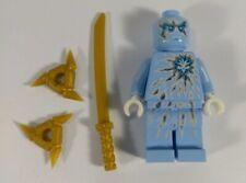 LEGO® Ninjago ©2012 NRG Zane Minifigure Light Blue and Silver ~ RARE!