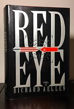 SIGNED ~ RED EYE by Richard Aellen ~ 1st Edition & 1st Print ~ NF/VG