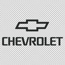 """/& COLOR CHOICE! BOWTIE /""""CHEVROLET/"""" 13/"""" LENGTH VINYL DECAL $5.45 FREE SHIPPING"""