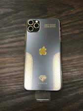iPhone 11 Pro Max - 256GB - Space Gray / Black & Gold Luxury Edition