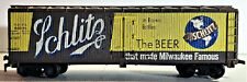 HO SCALE OLD Schlitz BEER REEFER WOOD 1930s to 1950s
