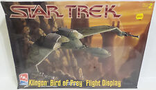 STAR TREK : KLINGON BIRD OF PREY FLIGHT DISPLAY MODEL KIT MADE IN 1997 (MH)