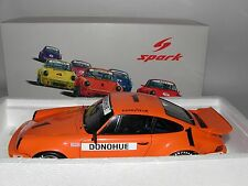 PORSCHE 911 RS 3.0, #1, Iroc Champion 1975-Spark 1/18 TOP + OVP